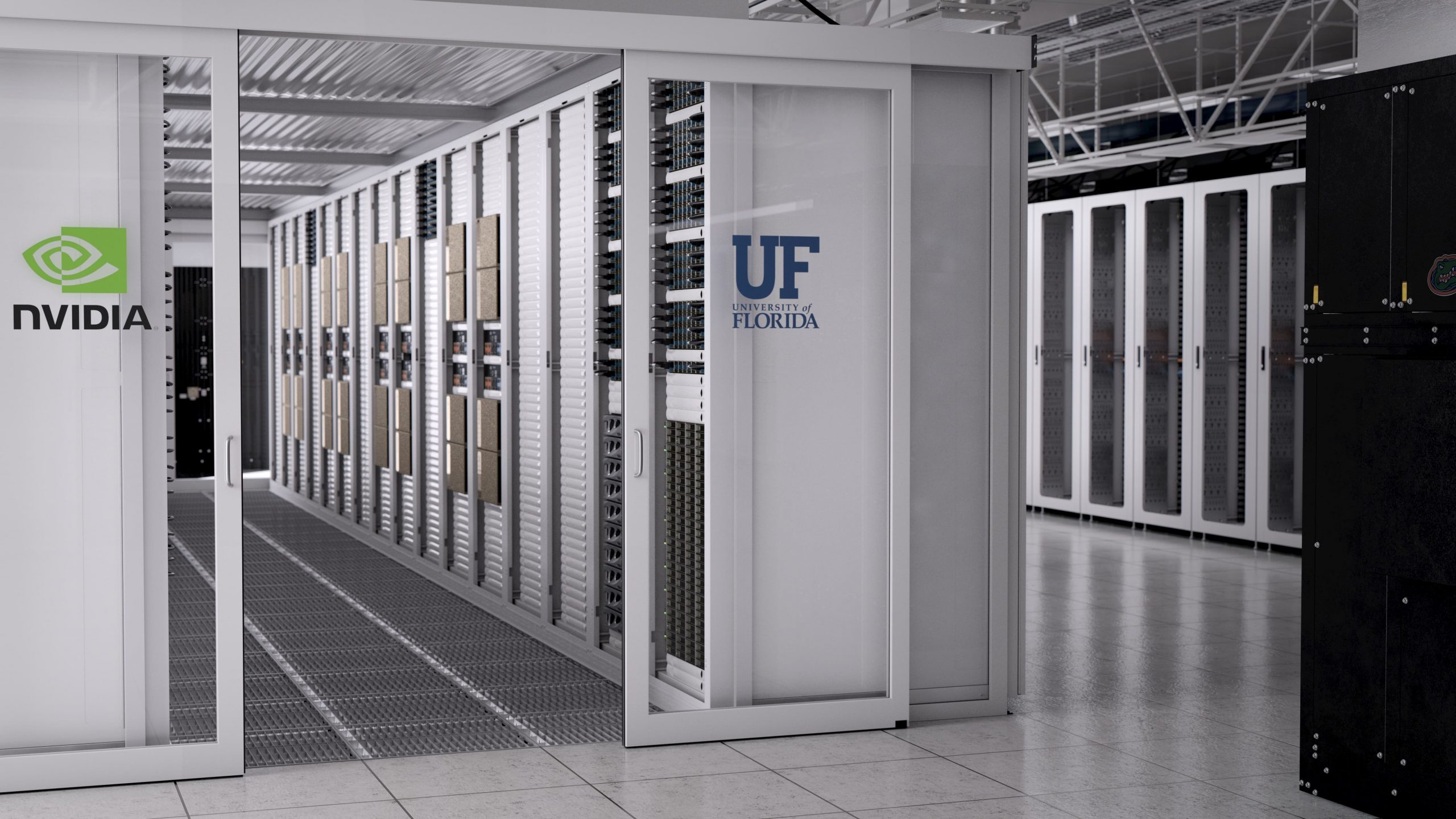 A photo of a supercomputer