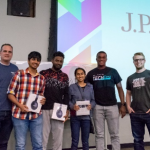 Graduate Student Keerthiraj wins awards in Coding and Hack-a-thon competitions